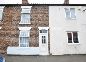 Thumbnail 2 bed terraced house for sale in Mere Dyke Road, Luddington, Scunthorpe