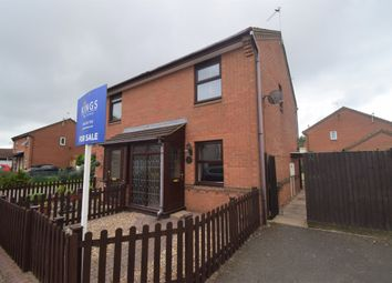 Thumbnail 2 bed semi-detached house for sale in Cherrybrooke Close, Thurcaston Park, Leicester