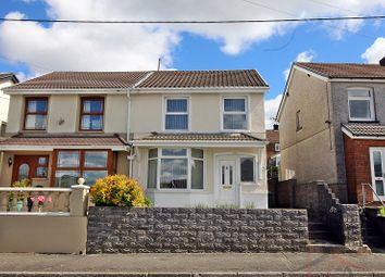 Thumbnail 3 bed semi-detached house for sale in Oak Street, Gilfach Goch, Porth, Rhondda, Cynon, Taff.