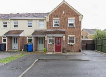 Thumbnail 3 bed terraced house for sale in Juniper Close, Hollingwood, Chesterfield