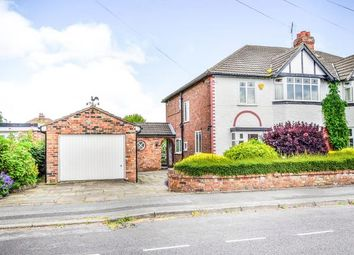 Thumbnail 4 bed semi-detached house for sale in Greenway Road, Timperley, Altrincham, Greater Manchester