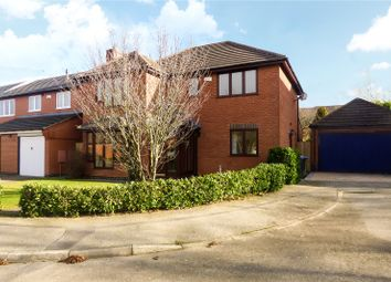 Thumbnail 4 bed detached house for sale in Murray Close, Broughton Astley, Leicester, Leicestershire