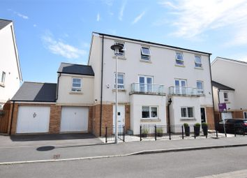 Thumbnail 4 bed town house for sale in Kingfisher Road, Portishead, Bristol