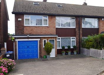 Thumbnail 4 bed semi-detached house for sale in Gladeside, Croydon