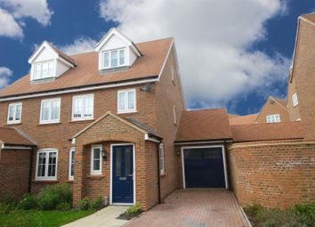 Thumbnail 3 bed semi-detached house for sale in Brocket Meadows, Ware