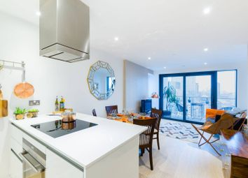 Thumbnail 1 bedroom flat for sale in Horizons Tower, Canary Wharf