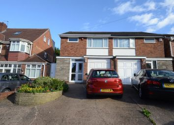 Thumbnail 3 bed semi-detached house for sale in Brockhurst Road, Hodge Hill, Birmingham