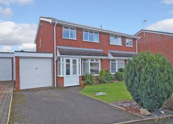 Thumbnail 3 bed semi-detached house for sale in Hollyberry Close, Redditch