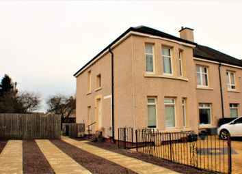 Thumbnail 3 bed flat for sale in Kirkton Avenue, Glasgow
