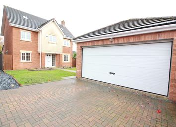 Thumbnail 6 bed detached house for sale in Poplars Court, Mardy, Abergavenny