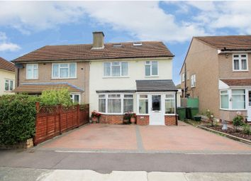 Thumbnail 5 bedroom semi-detached house for sale in Woodcroft, London