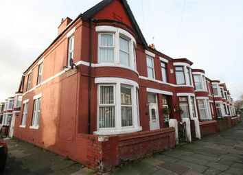 Thumbnail 4 bed end terrace house for sale in Deveraux Drive, Wallasey