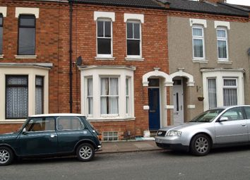 Thumbnail 3 bed terraced house to rent in Wycliffe Road, Abington, Northampton