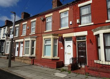Thumbnail 3 bed terraced house to rent in August Road, Anfield, Liverpool