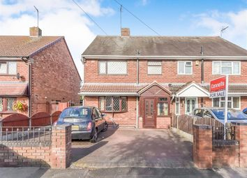 Thumbnail 3 bed semi-detached house for sale in Ash Road, Wednesbury