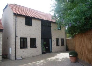 Thumbnail 3 bed detached house to rent in Frogmore, Exning, Newmarket