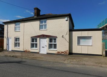 Thumbnail 3 bed cottage for sale in The Causeway, Hitcham, Ipswich