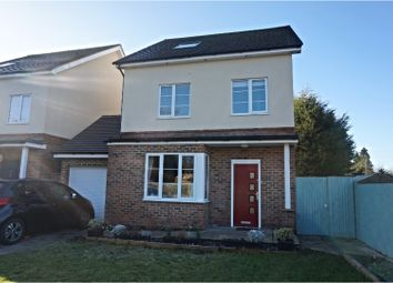 Thumbnail 4 bed detached house for sale in The Crescent, Horley