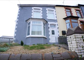 Thumbnail 4 bed end terrace house for sale in Gilfach Road, Penygraig, Tonypandy