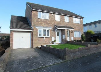 Thumbnail 3 bedroom semi-detached house for sale in Traherne Drive, Michaelston-Super-Ely, Cardiff