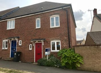 Thumbnail 3 bed end terrace house for sale in Vaughan Williams Way, Redhouse, Swindon