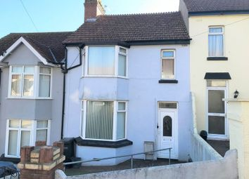 Thumbnail 3 bed terraced house for sale in Burridge Avenue, Torquay