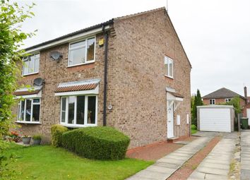 Thumbnail 2 bed semi-detached house to rent in Lockey Croft, Wigginton, York