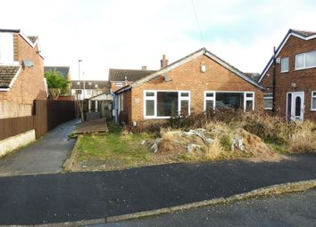 Thumbnail 2 bed detached bungalow for sale in Stewart Close, Spondon, Derby