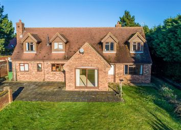 Thumbnail 4 bed detached house for sale in Woodhurst Road, Old Hurst, Huntingdon