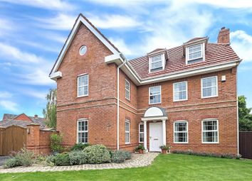 Thumbnail 6 bed detached house for sale in Hunts Field Close, Lymm