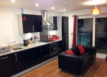 Thumbnail 1 bed flat to rent in Barge Walk, City Peninsular, London, Greater London