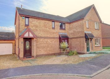 Thumbnail 3 bedroom semi-detached house for sale in Fontwell Drive, Racecourses, Bletchley, Milton Keynes