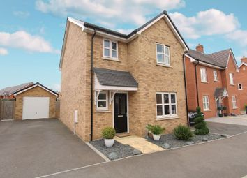 Thumbnail 3 bed detached house for sale in Norcott Mead, New Cardington