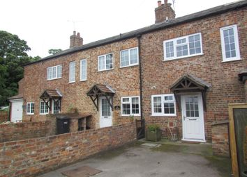 Thumbnail 2 bedroom terraced house for sale in The Row, Hunsingore, Wetherby