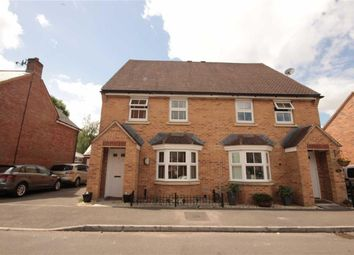 Thumbnail 3 bed semi-detached house for sale in Rectory Close, Wroughton, Swindon