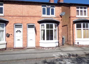 Thumbnail 2 bed end terrace house to rent in Grove Avenue, Solihull