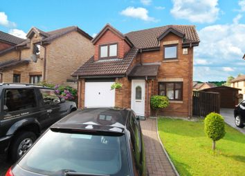 Thumbnail 4 bedroom detached house for sale in Rhindmuir Gardens, Glasgow