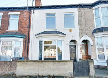 Thumbnail 4 bedroom terraced house for sale in Spring Bank West, Hull