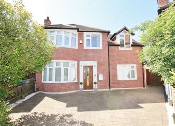 Thumbnail 5 bed detached house for sale in Seaford Avenue, Wollaton, Nottingham