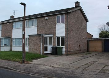Thumbnail 4 bed semi-detached house to rent in Holmes Way, Peterborough