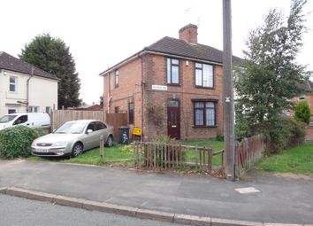 Thumbnail 2 bed semi-detached house for sale in Folville Rise, Braunstone, Leicester