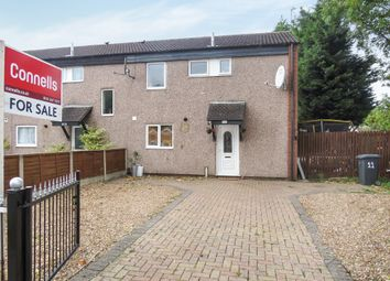 Thumbnail 3 bedroom end terrace house for sale in Swinford Avenue, Eyres Monsell, Leicester
