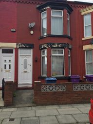 Thumbnail 3 bed terraced house to rent in Gloucester Road, Tuebrook, Liverpool
