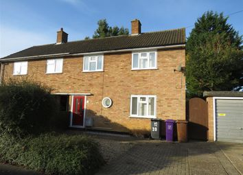 Thumbnail 2 bed semi-detached house for sale in Caslon Way, Letchworth Garden City