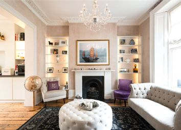 Thumbnail 3 bedroom terraced house to rent in Chalcot Crescent, Primrose Hill, London