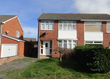 Thumbnail 3 bed semi-detached house for sale in Adwy Wynt, Flint, Flintshire