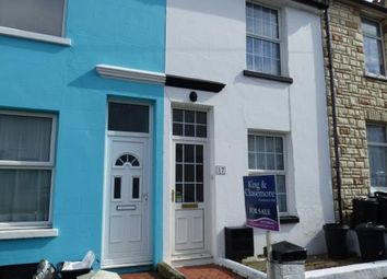 Thumbnail 2 bed terraced house for sale in Evelyn Avenue, Newhaven, East Sussex