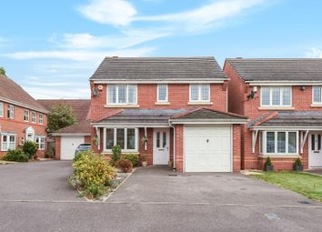 Thumbnail 3 bedroom detached house for sale in Bentley Drive, Arborfield, Reading