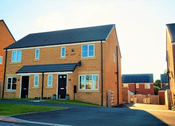 Thumbnail 3 bed semi-detached house for sale in Woodlands Way, Leeds