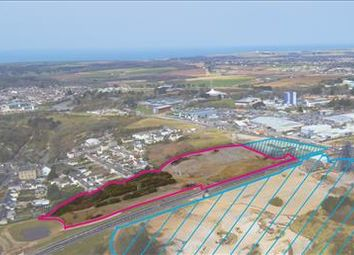 Thumbnail Commercial property for sale in South Crofty Residential Land, Pool, Redruth, Cornwall